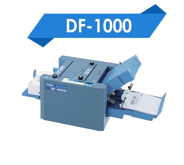 DF-1000 Appareils de finition NT-Repro
